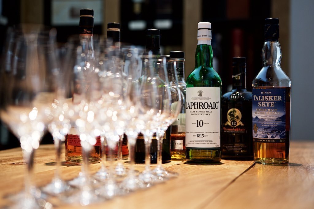 Whisky Tasting bei Delicious Berlin