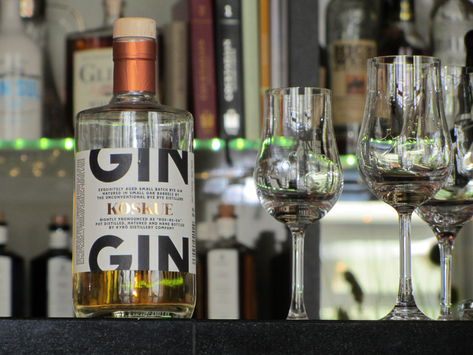Koskue Barrel Aged Gin in Berlin