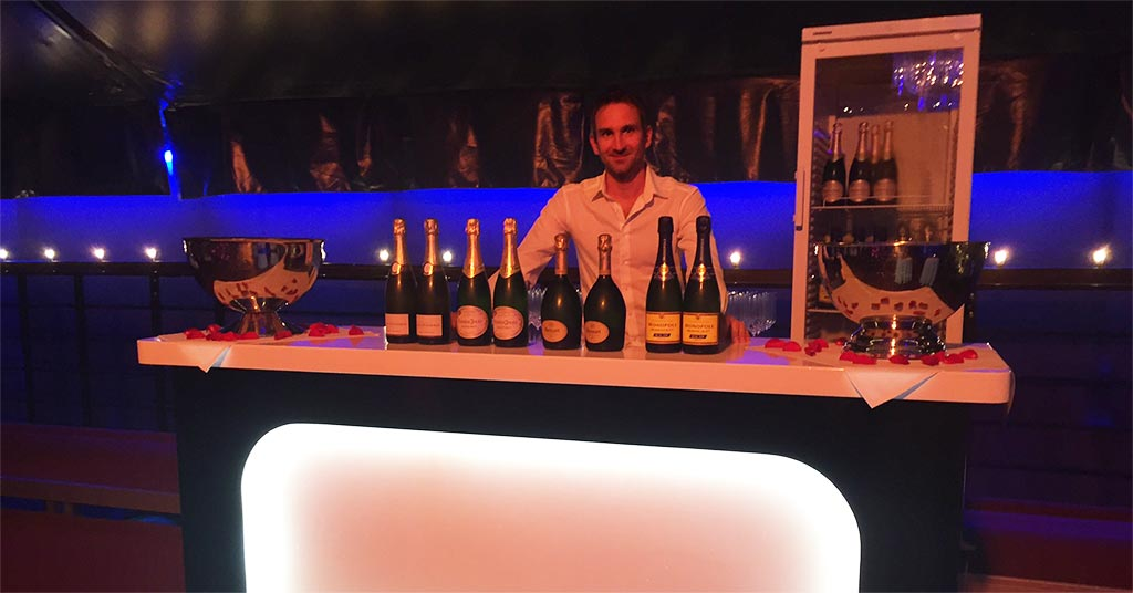 Champagner Bar in Berlin