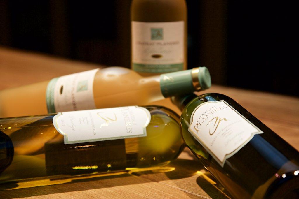 Chateau Planeres Weißwein und Süßwein