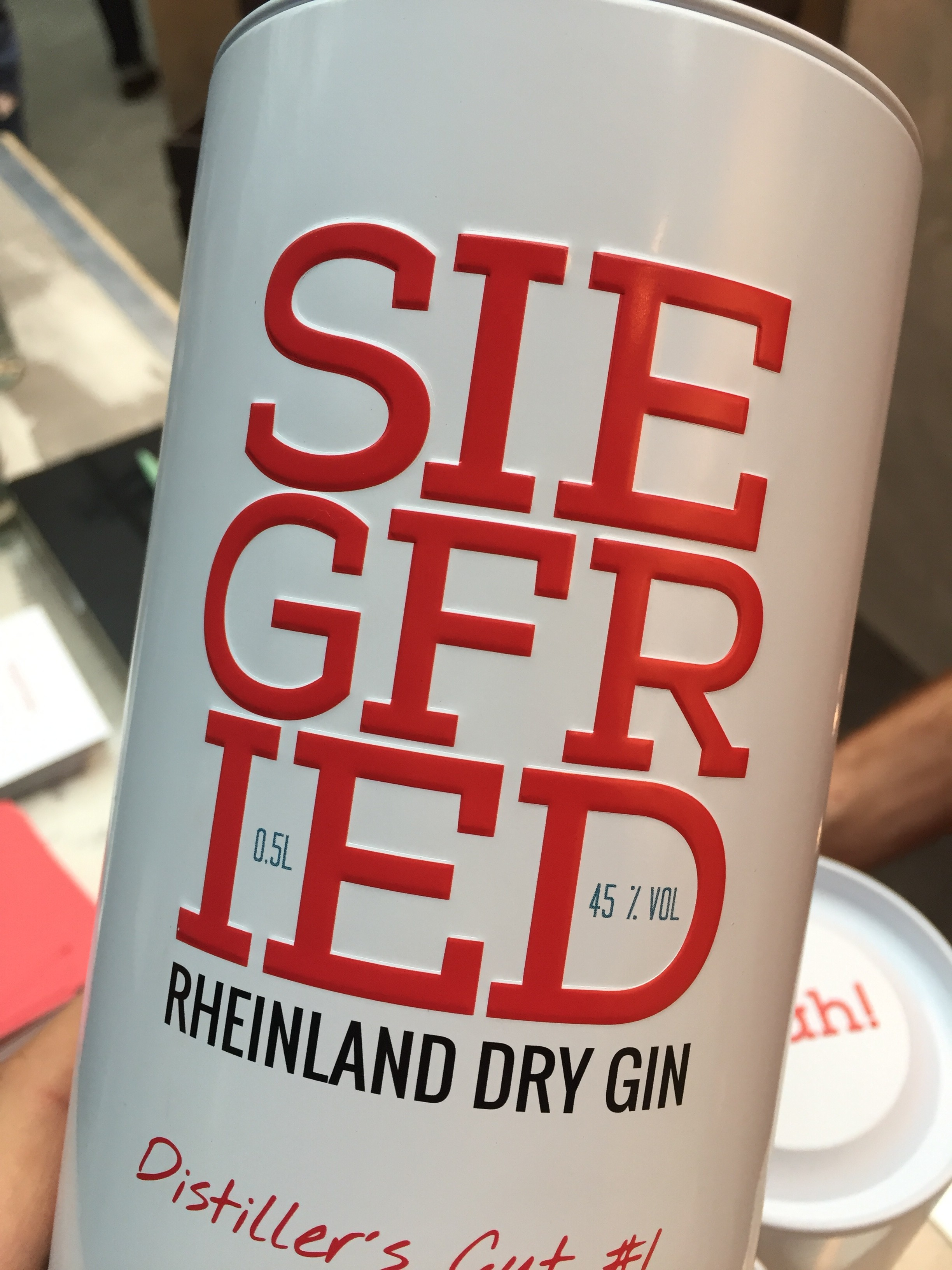 Siegfried Rheinland Dry Gin Distiller`s Cut