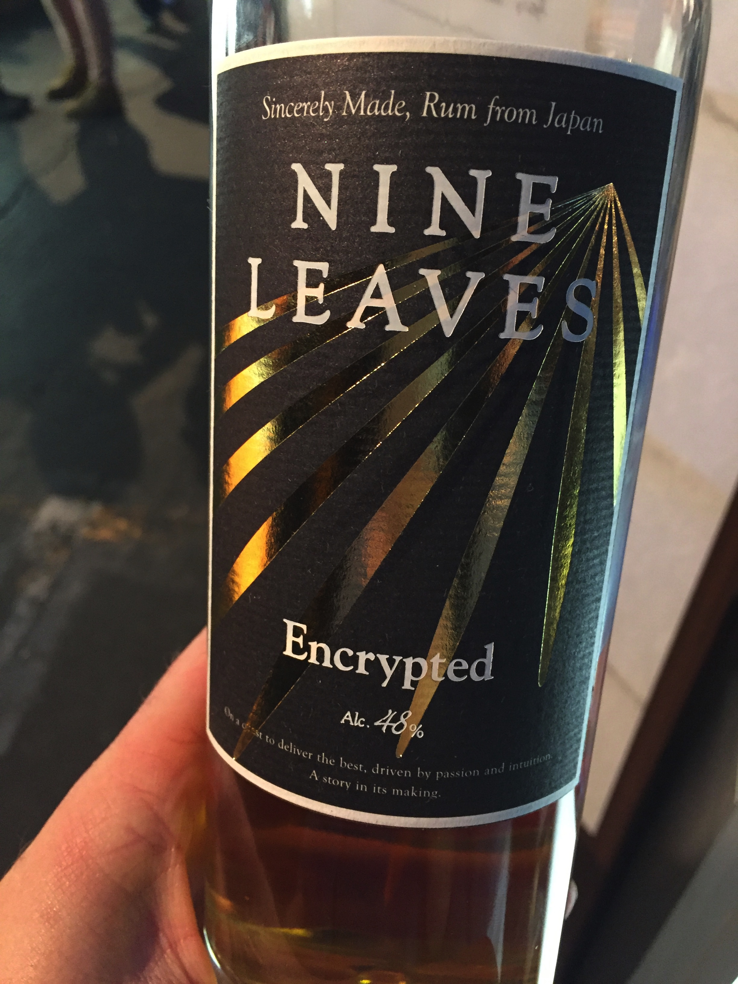Nine Leaves Encrypted