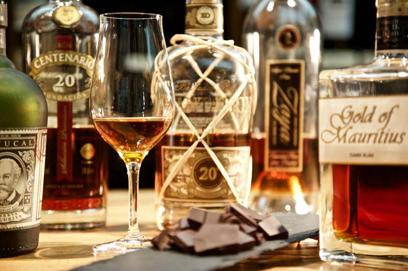 Rum Schokolade Tasting
