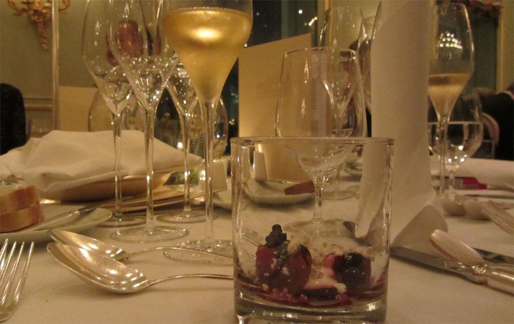Bollinger Champagner zur Vorspeise