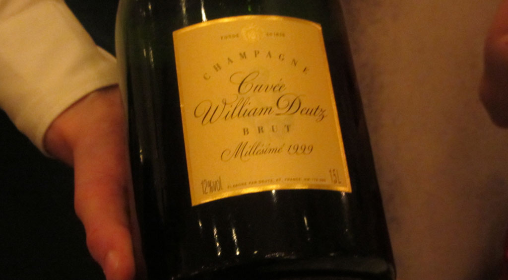 Champagne Deutz Cuvée William Deutz Brut Millésimé 1999 Magnum