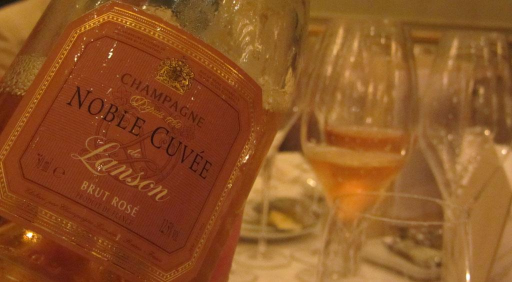 Champagne Lanson Noble Cuvée Brut Rosé