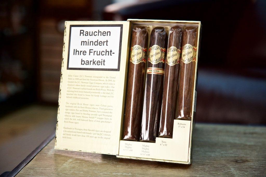 Brick House Zigarren Geschenkset