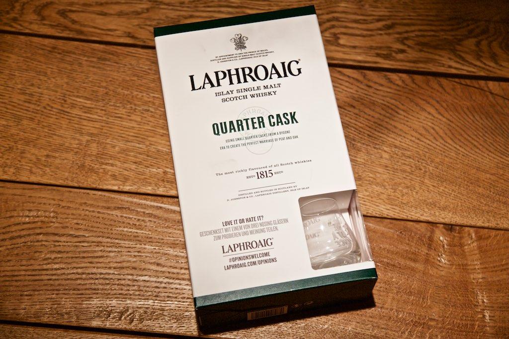 Laphroaig Quarter Cask Geschenkset