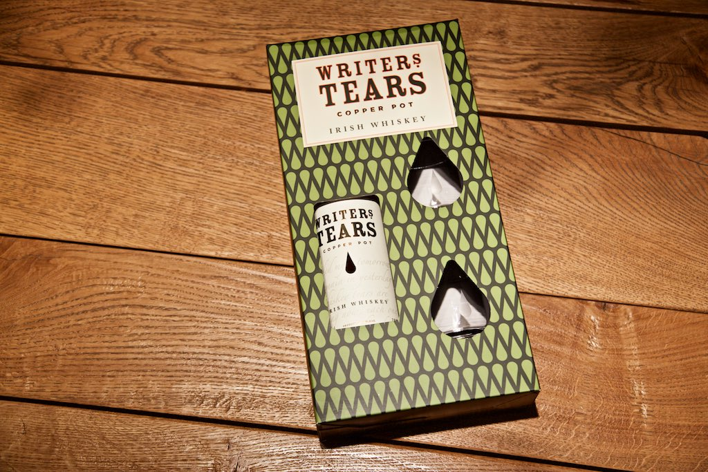 Writers Tears Whisky Gschenkset