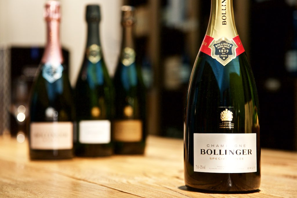 Bollinger Champagner in Berlin: Special Cuvée