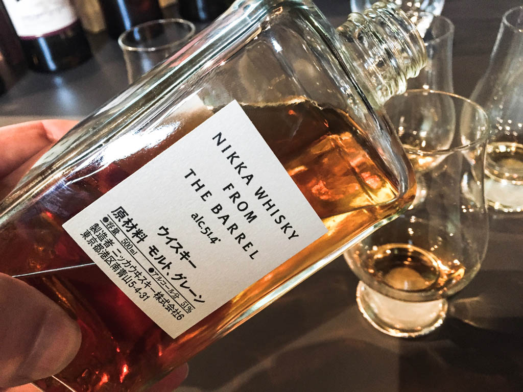 Whisky aus Japan: Nikka from the Barrel