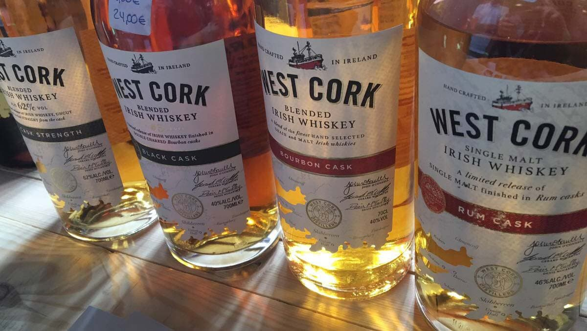 West Cork Whiskey auf Whisky Herbst