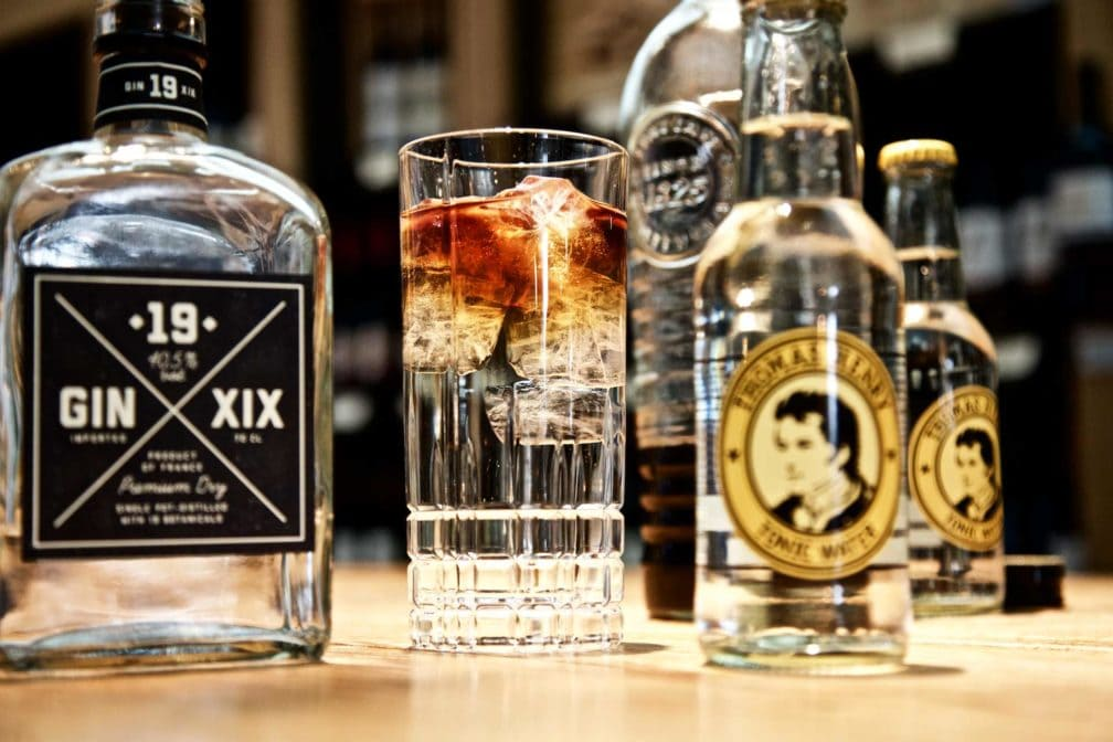 Cold Brew Coffee Gin and Tonic