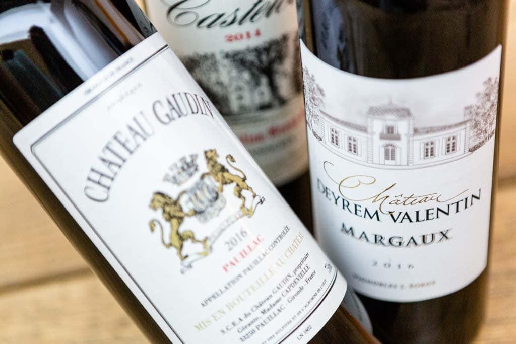 Bordeaux Wein aus Margaux & Pauillac