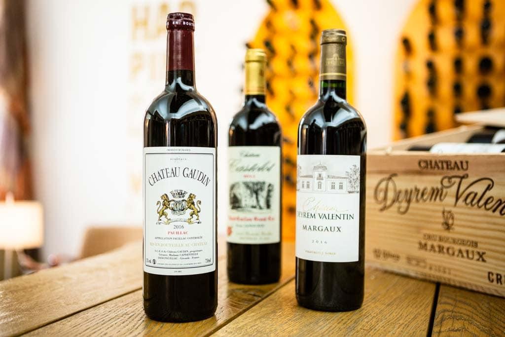 Médoc Wein aus Margaux & Pauillac