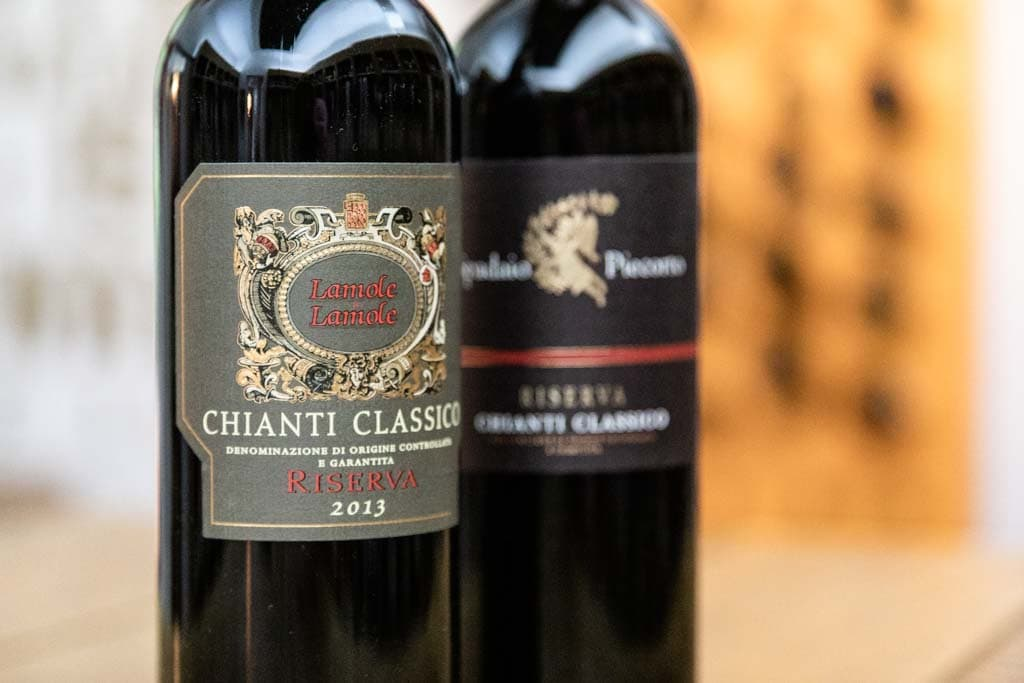 Chianti Classico aus der Toskana