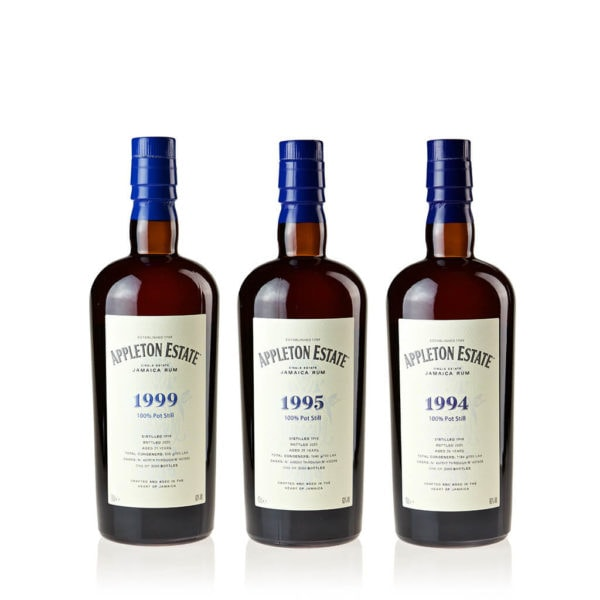 Appleton Estate Hearts Collection 3er-Set (1994, 1995, 1999)