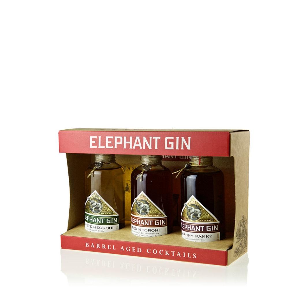 Elephant Barrel Aged Cocktail Set