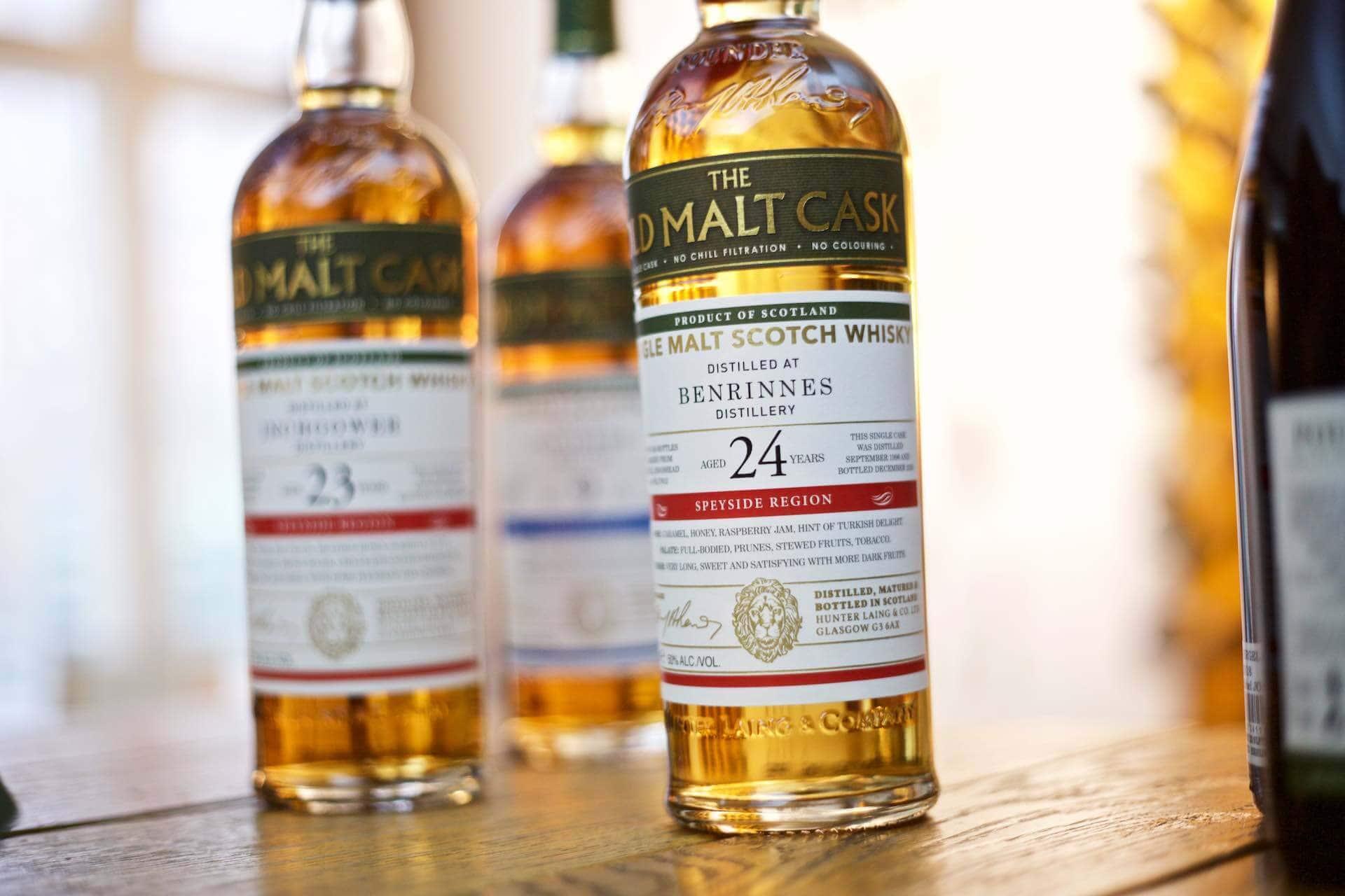 Abgefahrene und uralte Whiskys