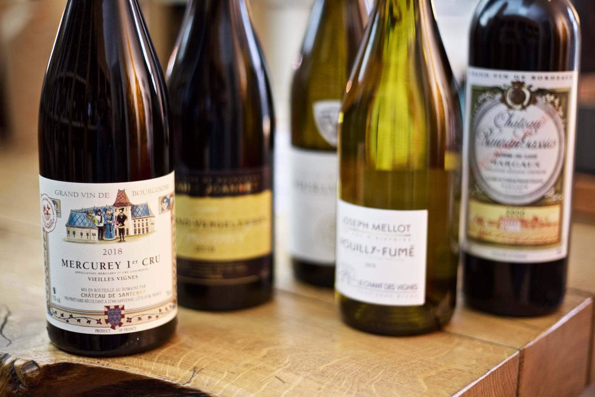 Tolle Weine aus dem Burgund, Bordeaux und von der Loire