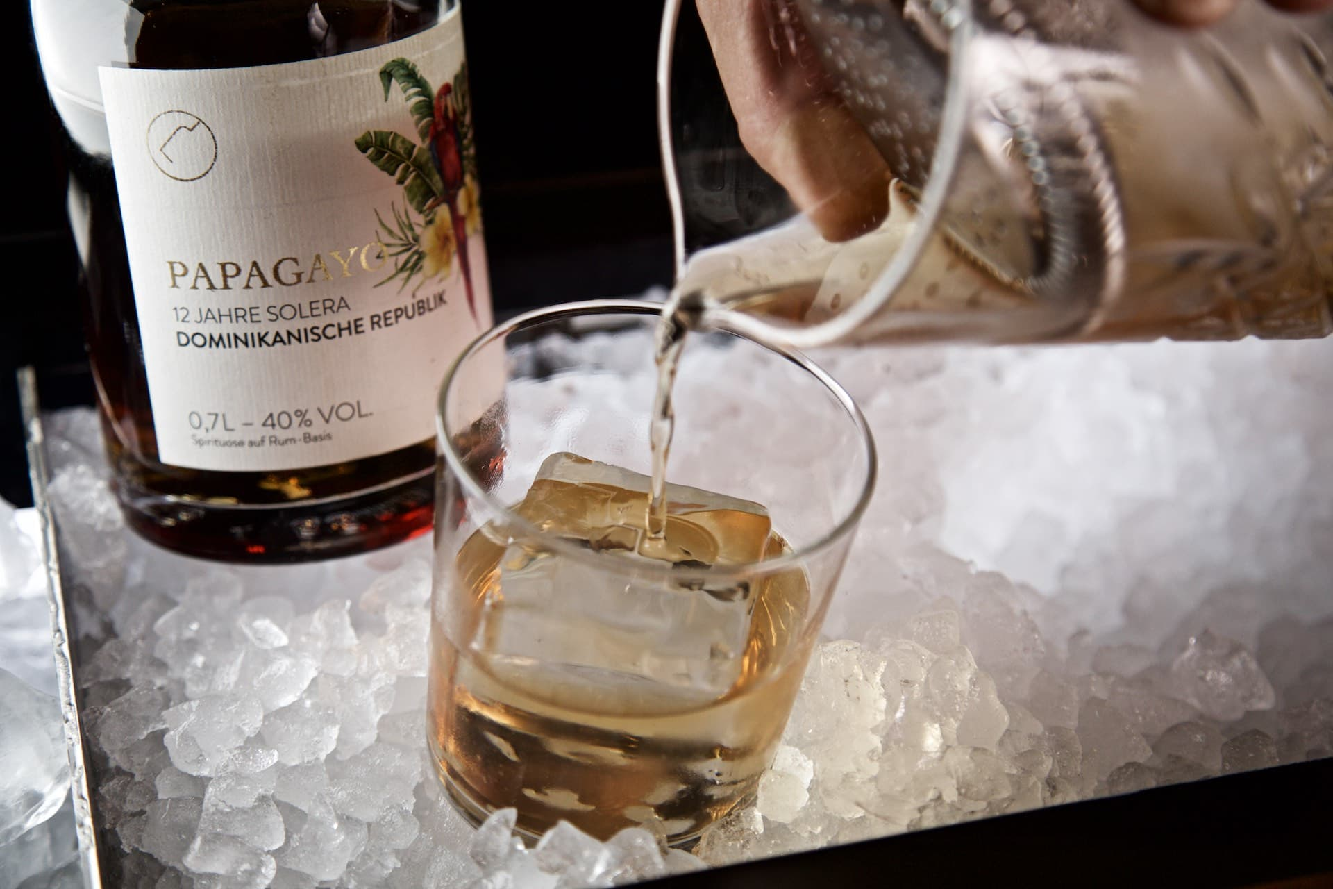 Old Fashioned Rezept mit dem Papagayo