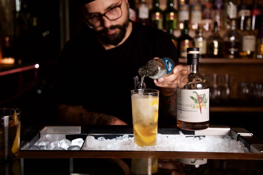 Papagayo Rum Collins